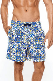 Amalfi Water Short