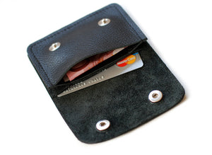 Mini Leder Portemonnaie  Money & more
