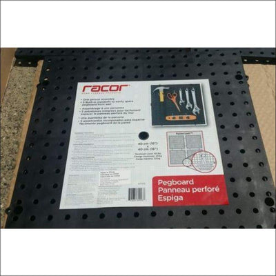 6 Pack Racor Pegboard 16 x 16 modular board panel garrage organization retail clearance Racor