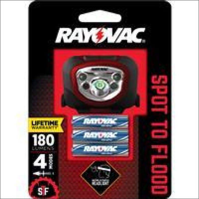 Rayovac STFHL3AAA-B Hands-Free 3AAA Headlight Clearance Spectrum Brands / Rayovac 012800524556