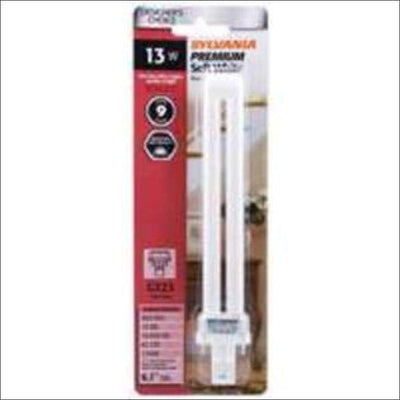 SYLVANIA 13-Watt 7.09-in Soft White Fluorescent Light Bulb Clearance SYLVANIA 046135204913