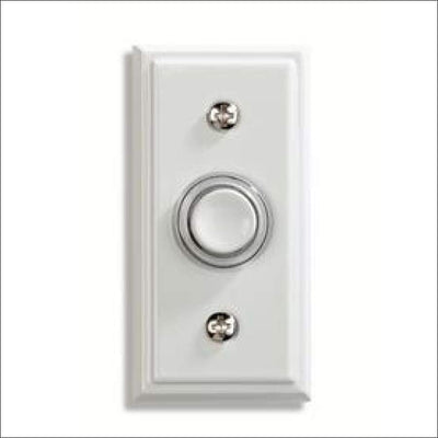 Utilitech White Doorbell Button Clearance Utilitech 016963718005