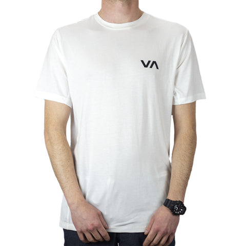 RVCA Vet SS Top - Antique White