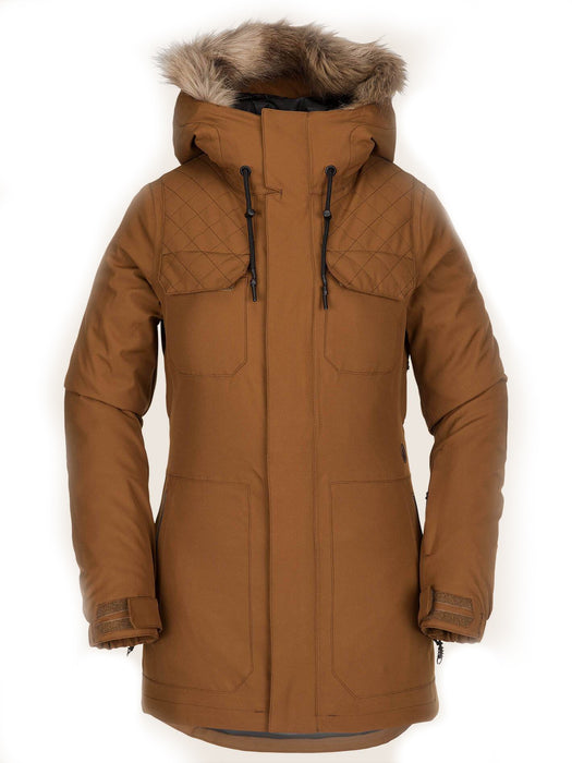 Volcom Women's Shadow Insulated Jacket - Copper