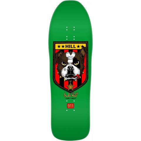 Powell Peralta Retro Hill Bulldog Deck - Green