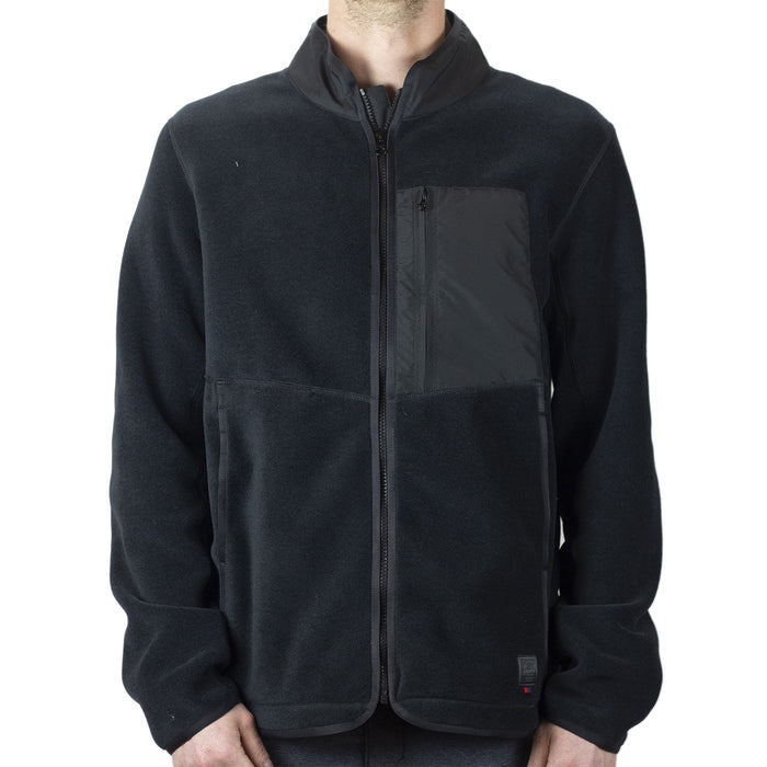 Herschel Light Full Zip Fleece - Black