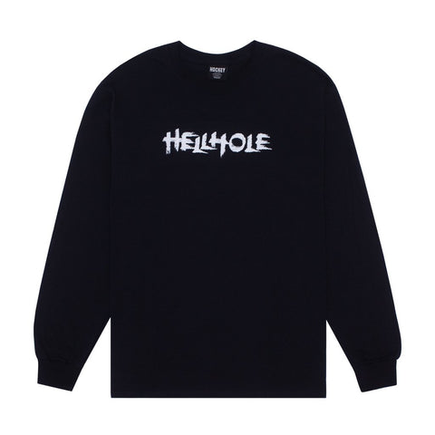 Hockey Hellhole LS Tee - Black