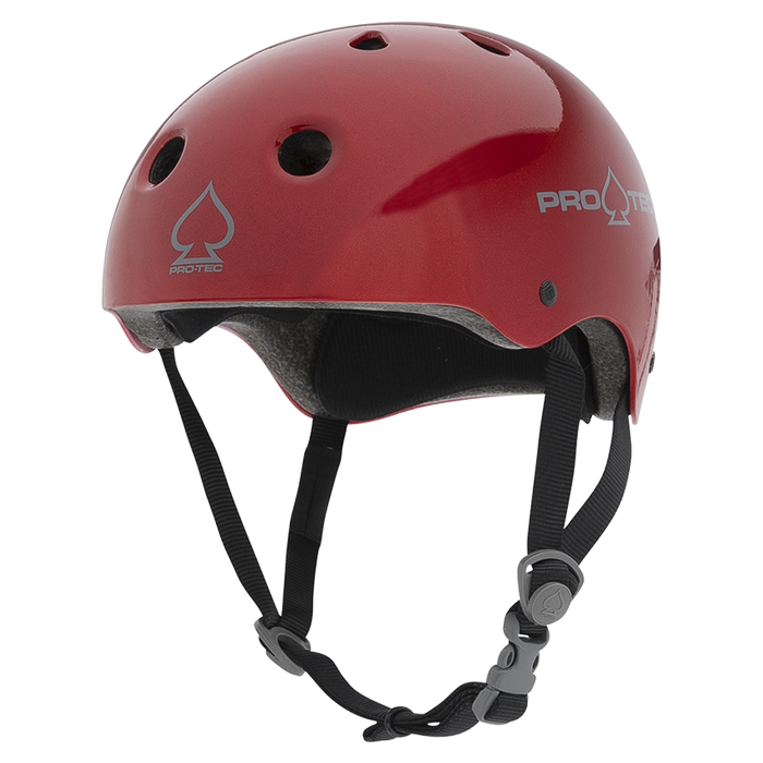 Pro-Tec Classic Certified Helmet - Red Metal Flake