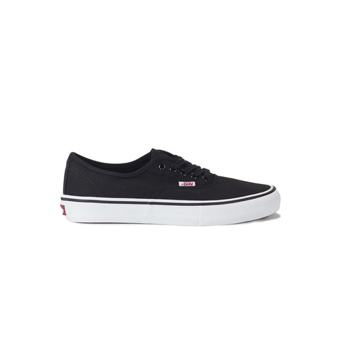 Vans Authentic Pro Canvas Shoe - Black/White