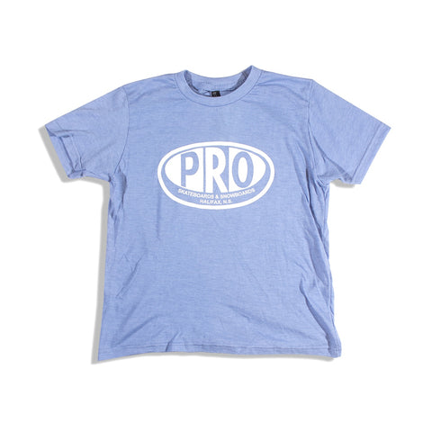 Pro Skates Youth Tee - Heather Blue