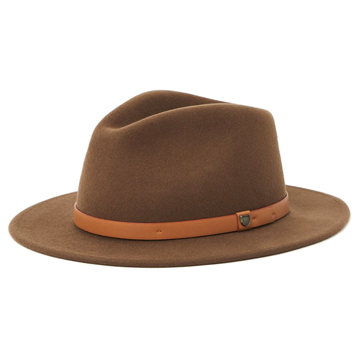 Brixton Messer Fedora Hat - Toffee