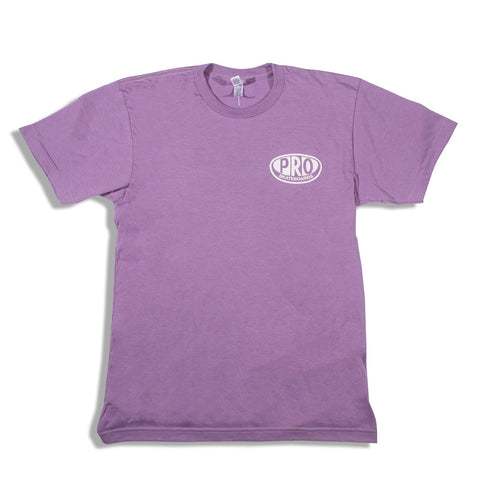 Pro Skates Proval SS T-Shirt - Heather Orchid
