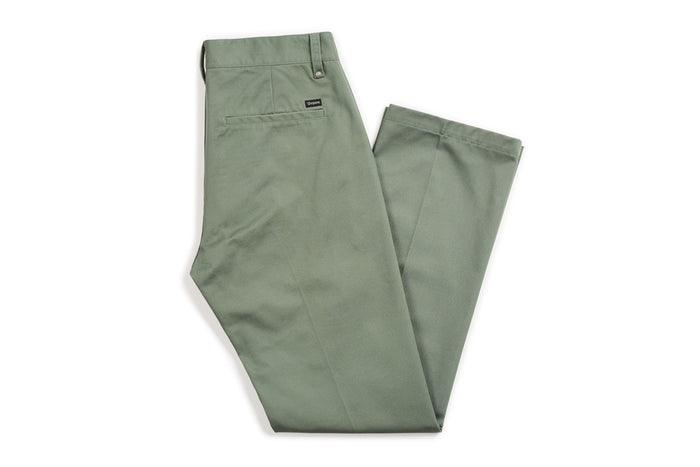 Brixton Labor Chino Pant - Washed Chive