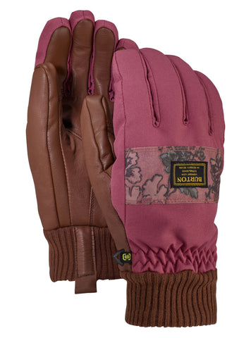 Burton Dam Glove - Rose Brown/Floral Camo