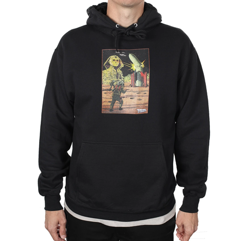 Theories Beyond Pullover Hoodie - Black