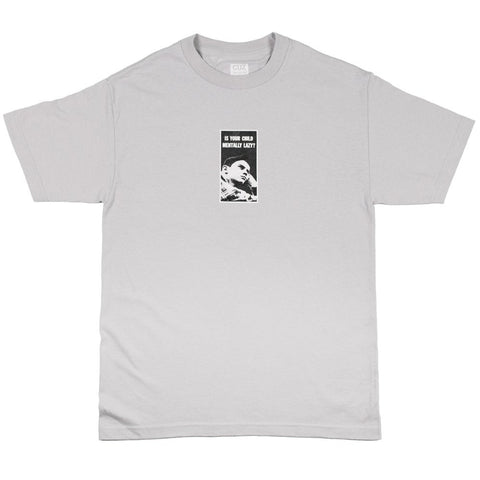 Cuz Mentally Lazy Tee - Silver