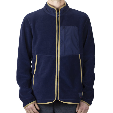 Herschel Light Full Zip Fleece - Peacoat
