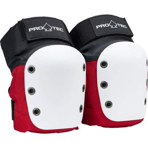 Pro-Tec Street Knee Pads - Red/White/Black