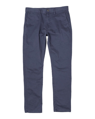 RVCA Daggers Slim Fit Chino Pant - Moody Blue