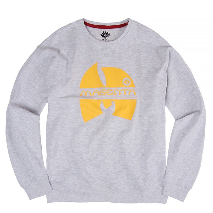 Magenta Wugenta Crewneck - Heather Grey