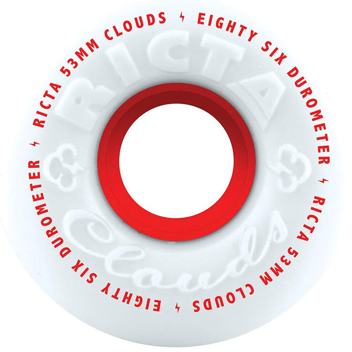 Ricta Clouds 86A Wheels - Red