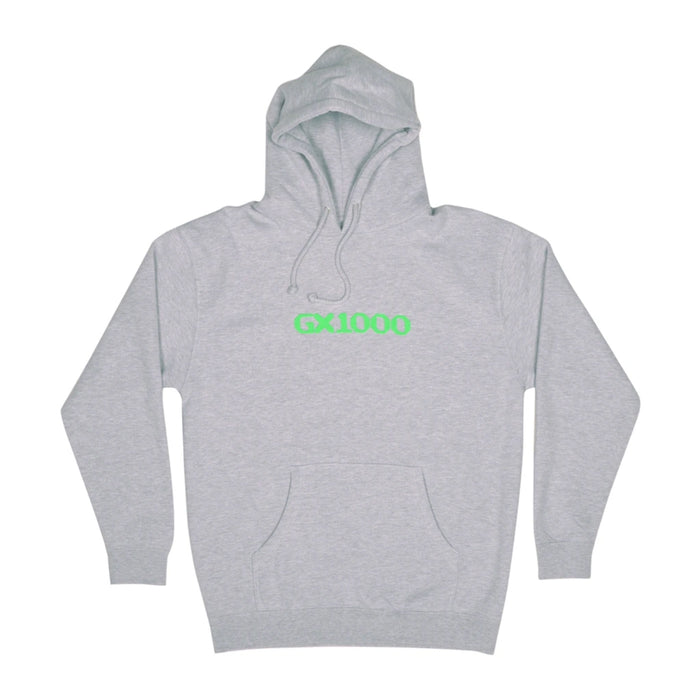 GX1000 OG Logo Hoodie - Heather Grey