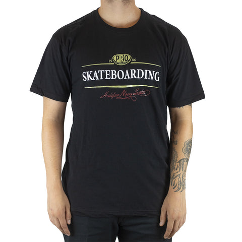 Pro Skates Sir Arthur SS T-Shirt - Black