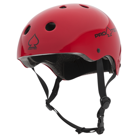 Pro-Tec Classic Certified Helmet - Gloss Red