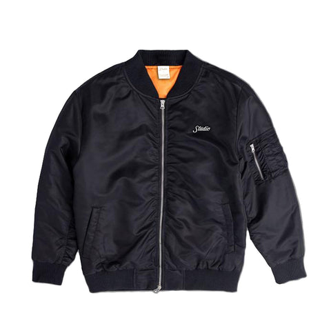 Studio Bomber Jacket - Black