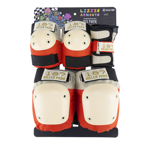 187 Junior Six Pack Pad Set - Lizzie