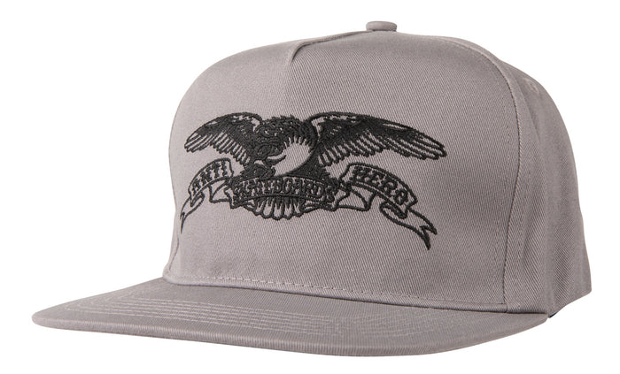 Anti-Hero Basic Eagle Snapback - Grey/Black