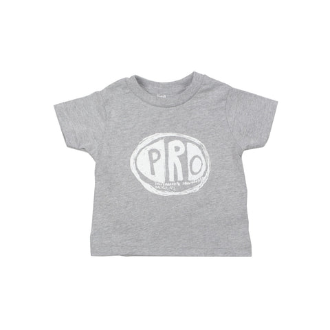 Pro Skates Toddler Scribble Tee - Heather Grey