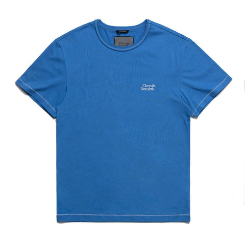 Chrystie New York SS T-Shirt -Royal Blue