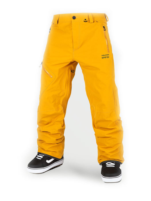 Volcom Gore-Tex Pant - Resin Gold