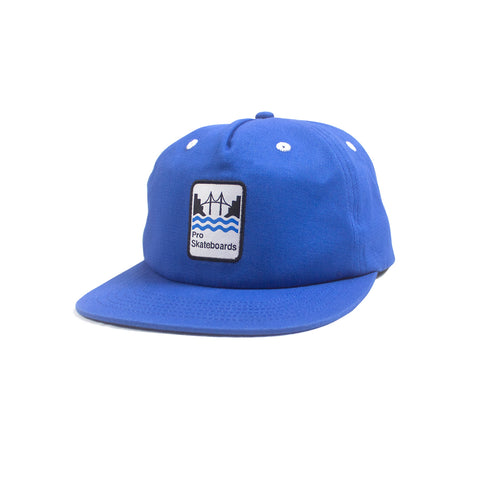 Pro Skates Bridges Snapback Hat - Blue