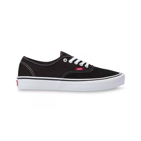 Vans Authentic Pro Suede Shoe - Black