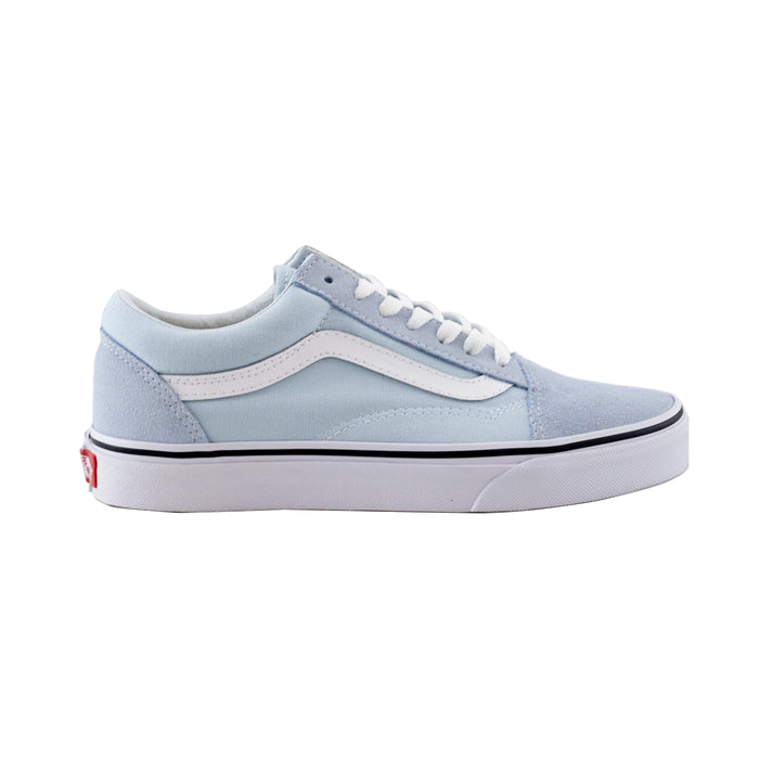 Vans Old Skool Shoe - Baby Blue/White