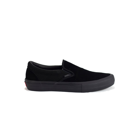 Vans Slip-On Pro Shoe - Blackout