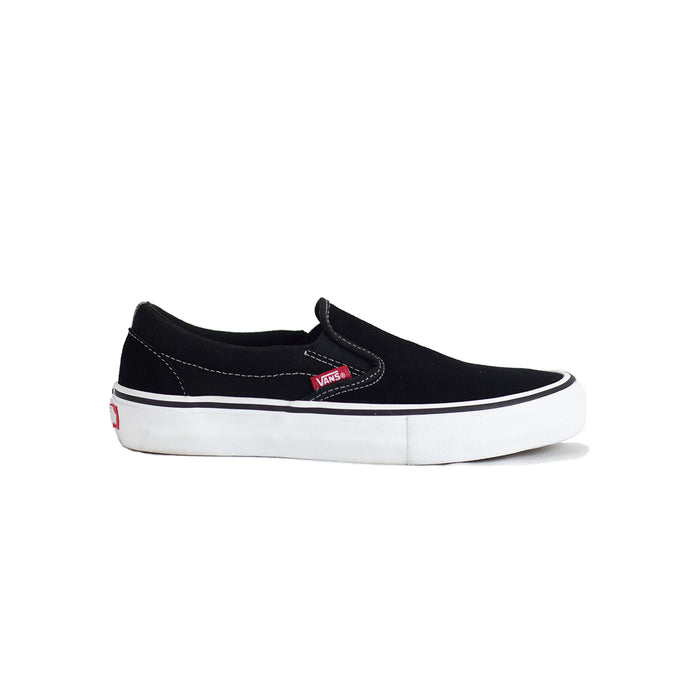 Vans Slip-On Pro Shoe - Black/White/Gum