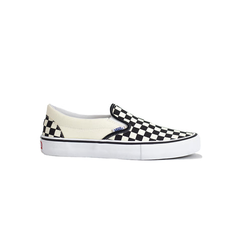 Vans Slip-On Pro Shoe - Checkerboard/Black/White