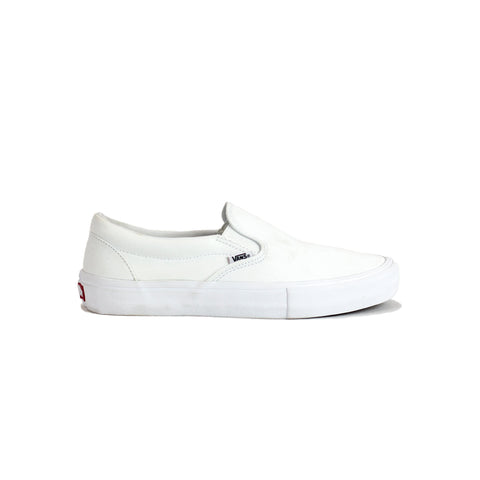 Vans Slip-On Pro Shoe - White/White