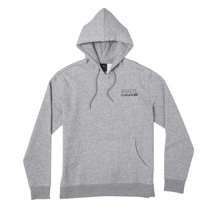 RVCA Transmission Hoodie - Athletic Grey