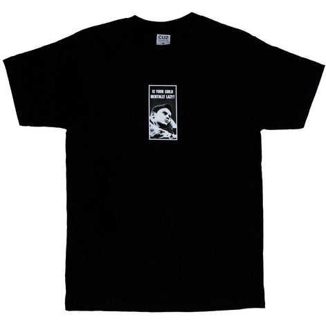 Cuz Mentally Lazy Tee - Black