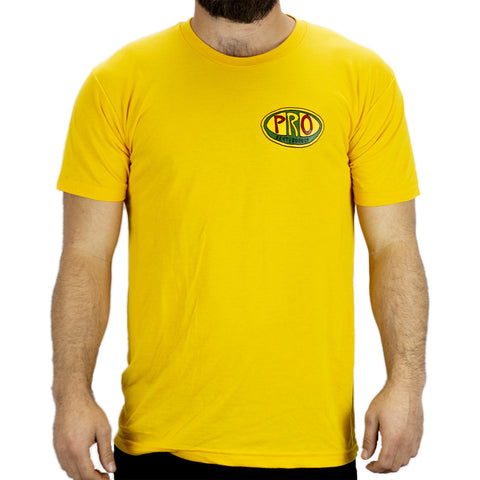 Pro Skates Bad Brains SS T-Shirt- Yellow