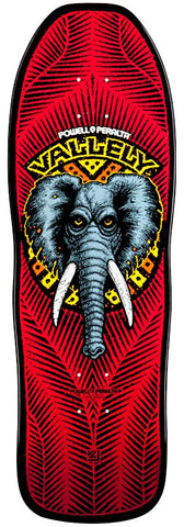 Powell Peralta Retro Vallely Elephant Deck - Red