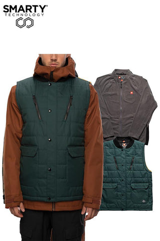686 Smarty 5 in 1 Complete Jacket - Dark Spruce