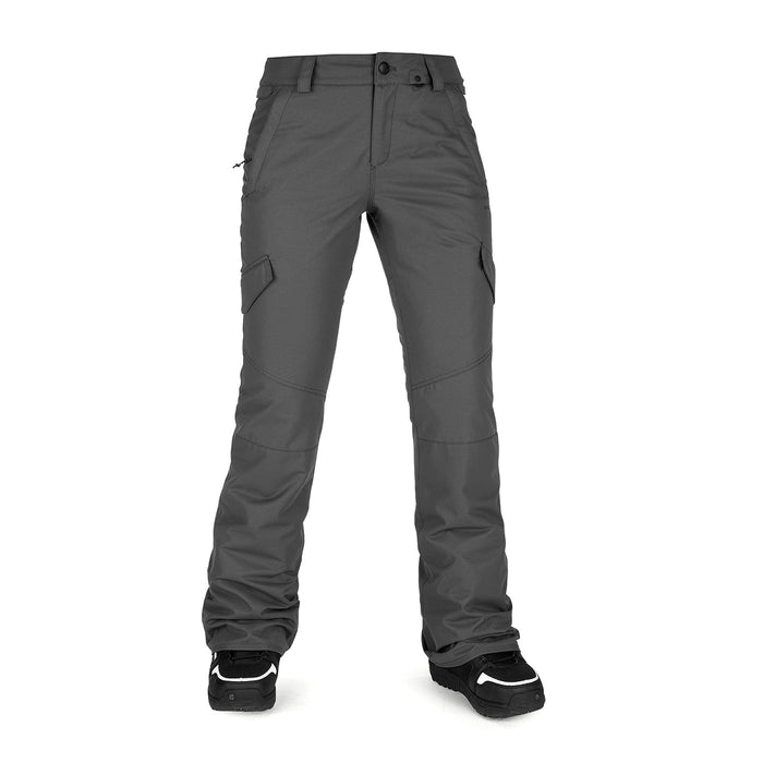 Volcom Womens Bridger Insulated Pant - Dark Grey