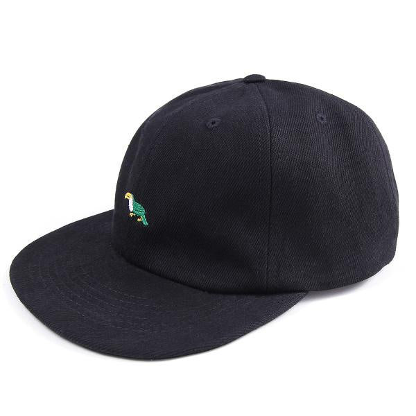 Magenta Toutouc 6P Hat - Black Denim