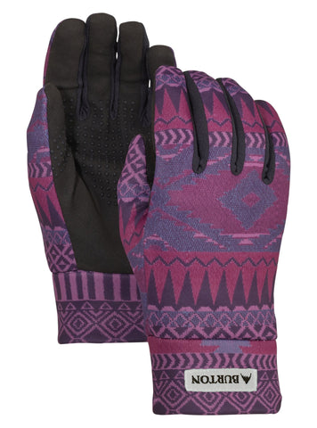 Burton Women's Touch N Go Liner Glove - Port Royale Freya Weave