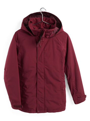 Burton Women's 2021 Jet Set Jacket - Port Royal Heather